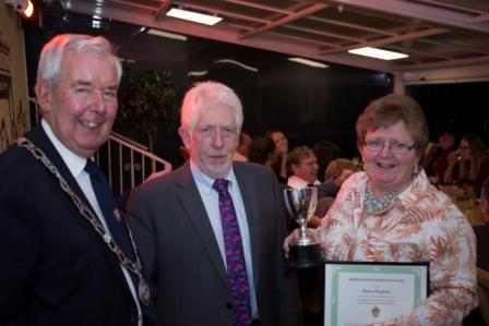 Chris Woodhouse, Terry Prosser & Diane Mogford