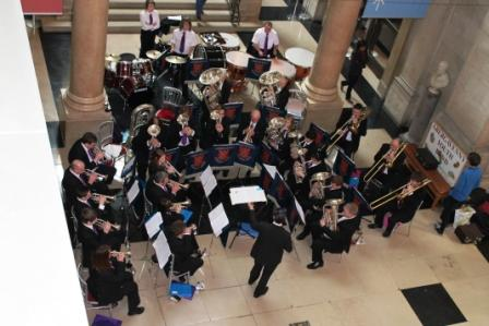 Senior Band at the National Museum