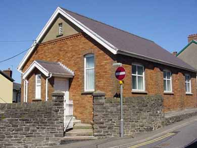 Rehearsal rooms at Prospect Road in Abergavenny