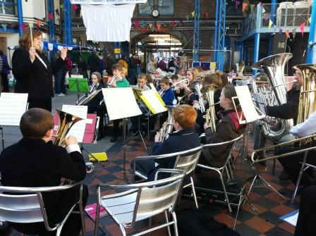 Junior Band at the Environment & Community Fair